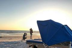 Create Listing: Beach Cabana with Hood or 2 Chairs & an Umbrella Rental
