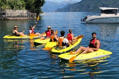 Create Listing: Kayaking on Lake Como