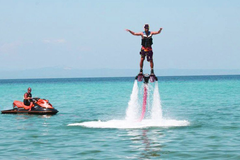 Create Listing: Flyboard session