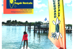 Create Listing: Paddleboard & Kayak Rentals - 4 Hours