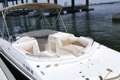 Create Listing: Daily 21' Hurricane Deckboat - All Ages • Up to 9 People