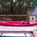 Create Listing: 14' Heritage Seadart II Fishing kayak w/ paddle & lifejacket
