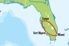 Create Listing: Miami / Tampa Motorcycle Tour - Self Drive - 3 Days / 2 Nt