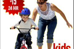 Create Listing: Kids Bike Bicycle Rental (Weekly Rental)