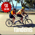 Create Listing: Tandem Bike Bicycle Rental (24 hour rental)