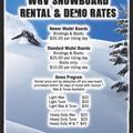 Create Listing: Snowboard & Boots RENTAL (24 hours)